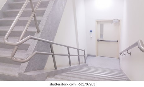 Stairwell in officer.