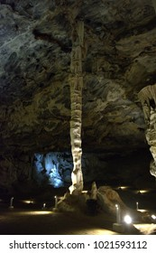 The stalactite caves of Cango near Oudtshoorn