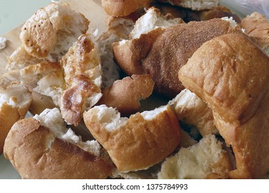 stale bread and material damage, hungry people and bread wastage,