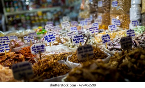 Stall at a local market, Ho Chi Minh City, Vietnam