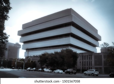 Stamford, Connecticut/ USA - September 11, 2019:Purdue Pharma World Headquarters Stamford Connecticut