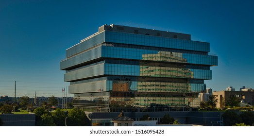 Stamford, Connecticut / USA - September 27,2019:Purdue Pharma headquarters Stamford.