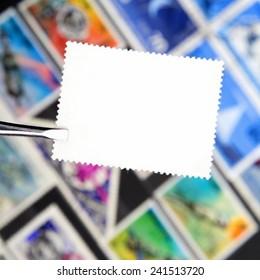 Stamp Album Images, Stock Photos & Vectors | Shutterstock