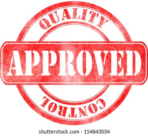 Stamp of Approved - Quality control