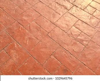 Stamp concrete floor texture