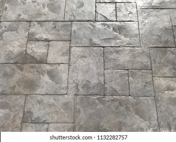 Stamp concrete or patio background pattern