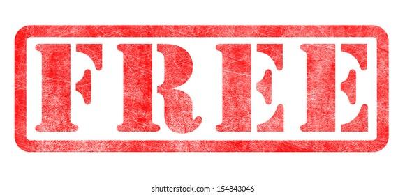 Stamp of Free