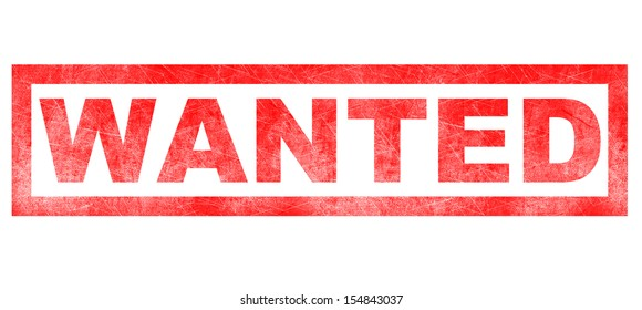 Stamp of Wanted