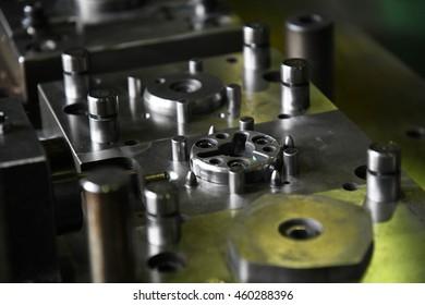 Stamping tool die.