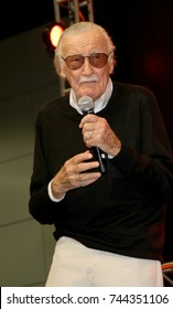 Stan Lee attends the annual Stan Lee's Los Angeles Comic Con 2017 Expo at the Los Angeles Convention Center on Oct. 28, 2017.