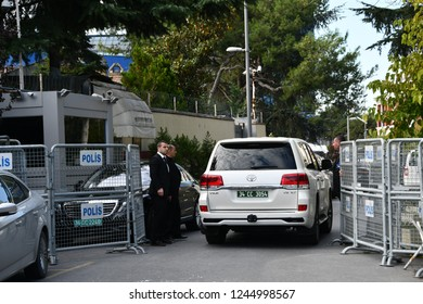 stanbul,Turkey-November10,2018:  Saudi journalist Jamal Khashoggi was killed in Istanbul Consulate.
