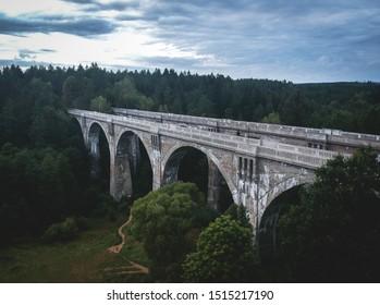Stanczyki Bridges in Northern Poland