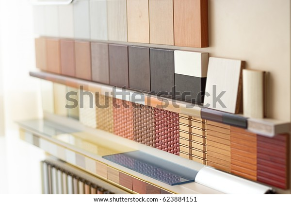 Stand Laminated Dsp Furniture Store Home Stock Photo (Edit Now