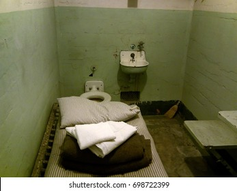 A standard Alcatraz cell