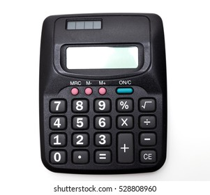 Standard black calculator