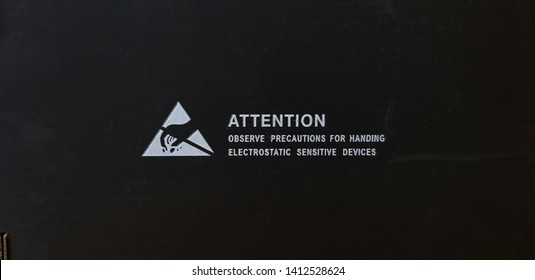 Standard caution Electrostatic Sensitive Device (ESD) symbol on the box,Black paper box that is coated with Carbon to prevent static electricity,The options for transporting electronic devices.