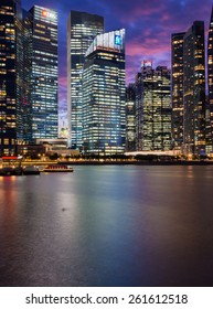 standard chartered marina bay financial centre , Singapore on January 30, 2015