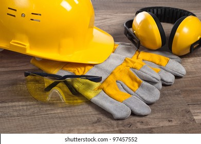 Standard construction safety equipment