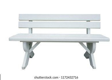 Standard table with benches on either side of the table isolated on white background. This has clipping path.