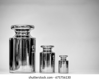 Standard Weight Class F2 amount 3 Piece, Black and White image