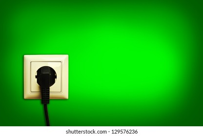 standart outlet with plug