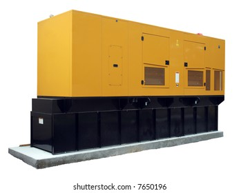 Standby generator, electric power plant, isolated [names removed]
