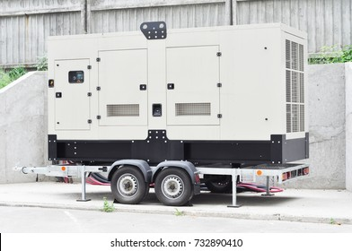 Standby generator electric for repair hurricane damage.  Office Backup Power Generator.