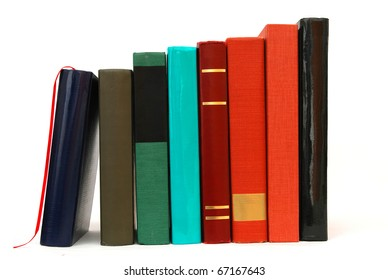 Standing a book file