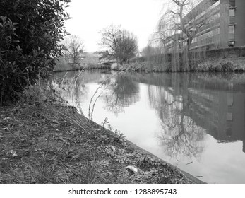 Standing on the bank of the River Wensum in the historic city of Norwich