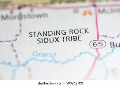 Standing Rock Sioux Tribe. South Dakota. USA
