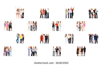 Standing Together Business Picture  - Shutterstock ID 361815503