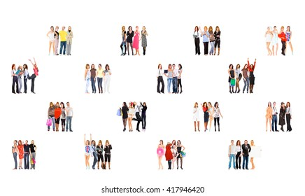 Standing Together Office Culture  - Shutterstock ID 417946420