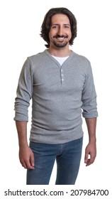 Standing turkish guy