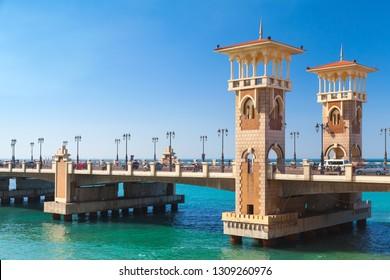 Stanley Bridge is a 400 meter-long Egyptian monument, popular landmark of Alexandria, Egypt