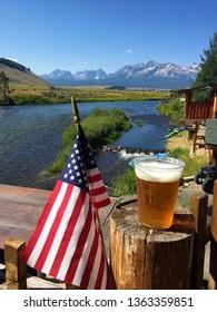 Stanley Idaho Sawtooth Mountains Salmon River