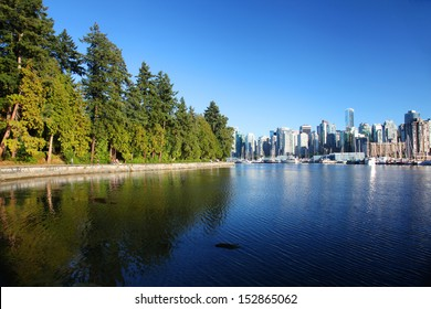 Stanley Park in Vancouver, Canada