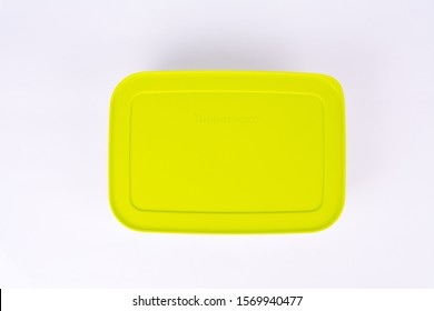 Stanly, Alexandria/Egypt - Nov 5, 2019: Tupperware freezer bowls - Tupperware products is an American brand specializing in plastic products. - Image