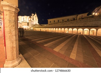 stant francis basilica assisi is a city in Umbria, in Italy. It is surrounded by hills, olive groves and vineyards