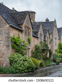 STANTON, ENGLAND - MAY, 26 2018: Stanton is a village in the Cotswolds district of Gloucestershire and is built almost completely of Cotswold stone, a honey-coloured Jurassic limestone