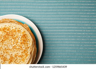 Staple of yeast pancakes, traditional for Russian pancake week (Shrove tide)