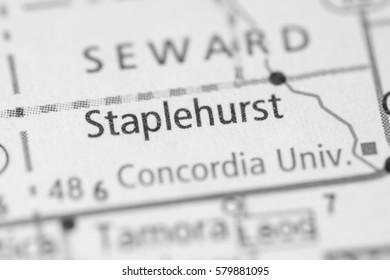Staplehurst. Nebraska. USA