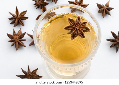 Star Anise Hot Cider Beverage
