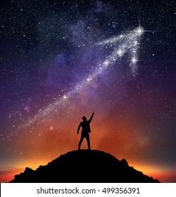 Star arrow upwards