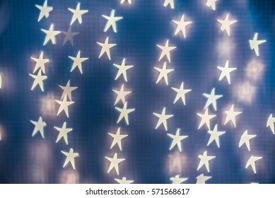 Star bokeh background. Wallpaper, texture and design.