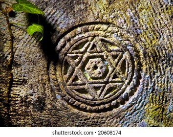 STAR OF DAVID METAL NOVELTY LICENSE PLATE FOR CARS  Shield of David  Magen David