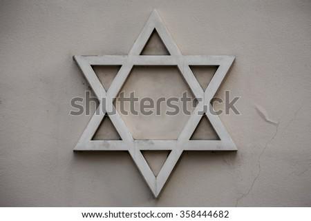 Star David Symbol Judaism Symbol Jews Stock Photo Edit Now