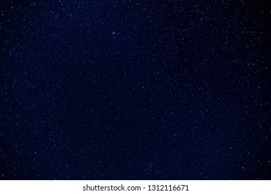 Star Field At Clear Night, nature for background
