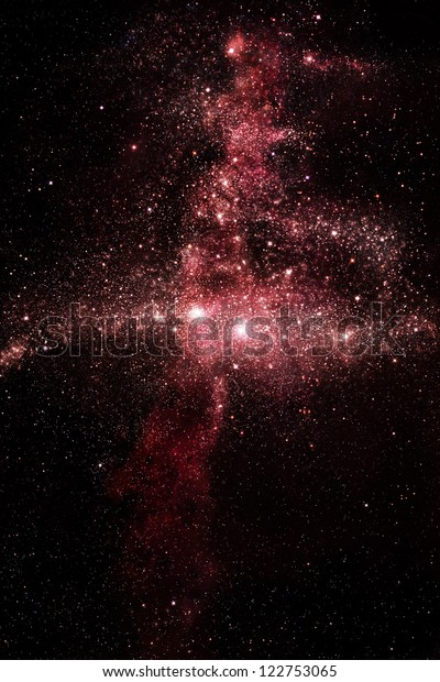 Star field in deep outer space