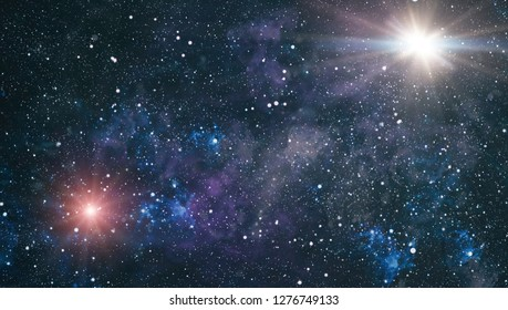 Star Filled Sky . Space stars .Cosmos space stars