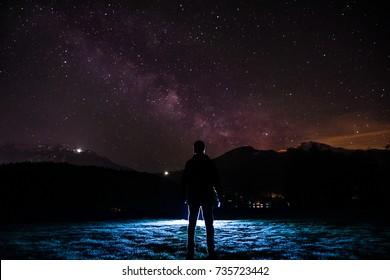 Star Gazing - Night Sky
